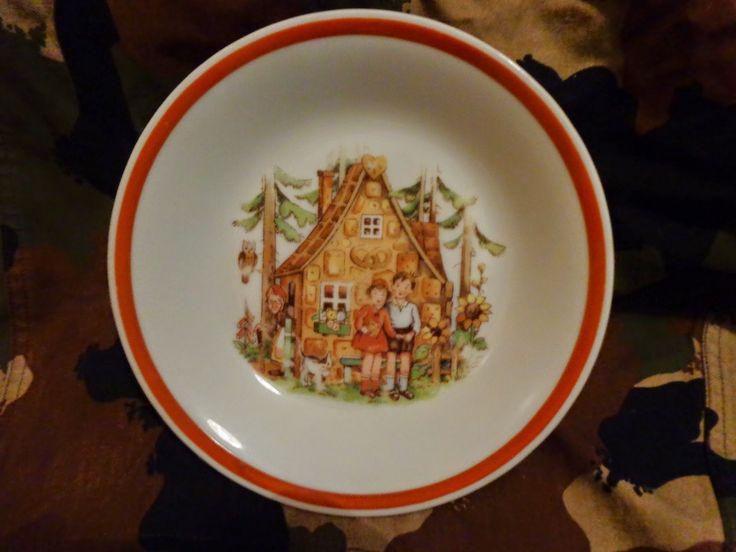 jancsi és juliska tányér