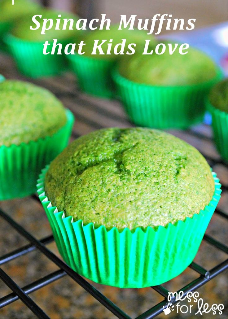 This healthy muffin recipe is easy to make ahead for your busy mornings. Add these to your kid's breakfast, lunch or after-school snack!