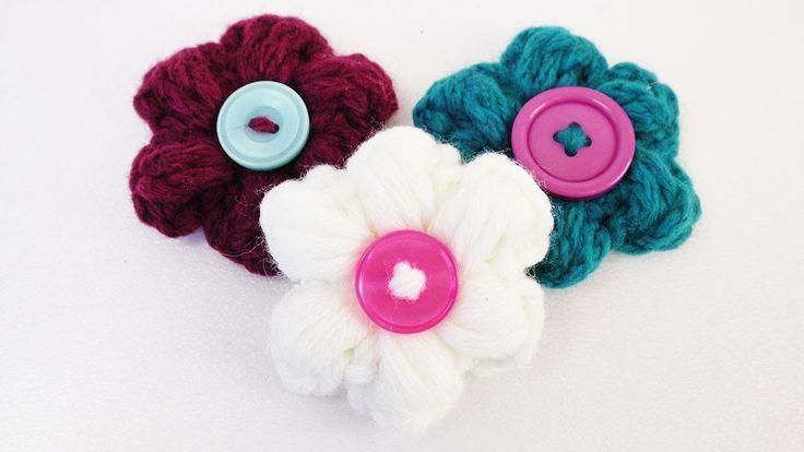 12 besten çiçek Bilder auf Pinterest | gehäkelte Blumen, Häkeln und ...