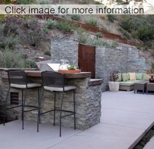 94 best doors and walls images on pinterest   backyard ideas ... - Stone Patio Wall Ideas