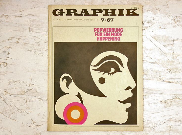 Graphik Heft 7 Juli 1967 Jahrgang 20