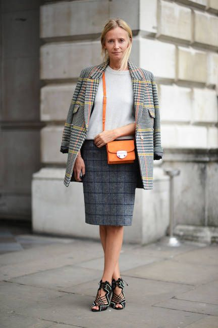 Street Chic London Fashion Week Spring 2014. J.Crew, Boden, Nicholas Kirkwood.