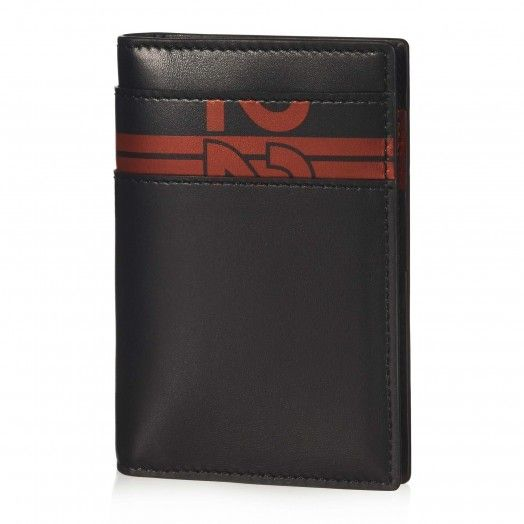 Tod's for Ferrari - Vertical Card Holder Serigrafia - Ferrari Store #Ferrari #FerrariStore #Elegance #craftsmanship #engineering #design #Tod's #Accessories #SS15 #SpringSummer #Italian #Heritage #Tradition #Collection #Card #Holder #Vertical #PrancingHorse #Black #Red #MadeinItaly #Ferrari500 #1952
