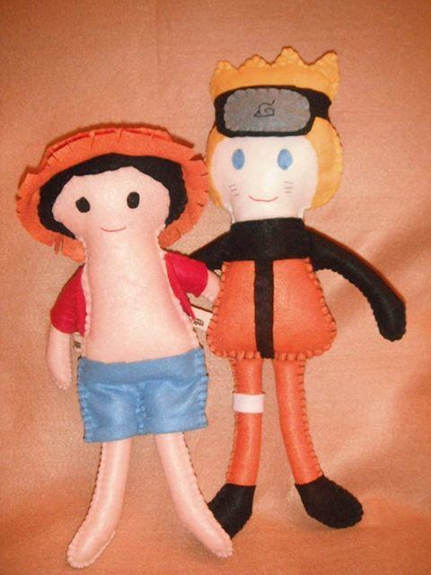 Naruto and Monkey (special order)  para encomendar enviar e-mail para felthem@gmail.com  to order e-mail me fo felthem@gmail.com