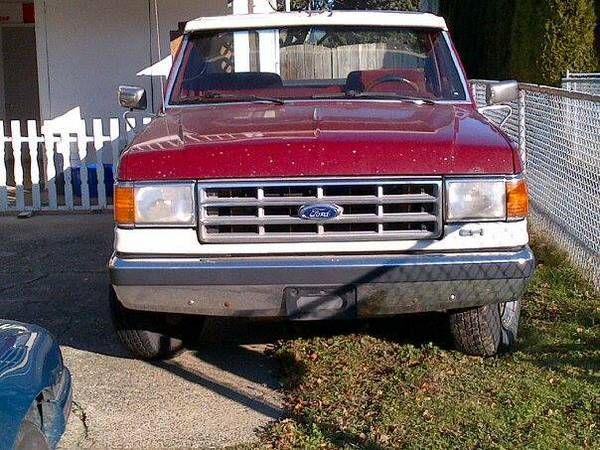 1988 Ford F150 for sale or trade for small pickup Automatic with 260k km on it. In fair condition with solid body. Good clean interior, aircared with a box liner. I'm available on Tuesdays an...  http://cacarlist.com/ford/1988-ford-f150-for-sale-or-trade-small-pickup_10880-10793.html