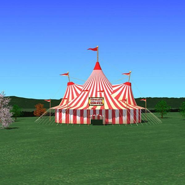 3dsmax Circus Tent Circus Tent By Acamerer Circus Tent