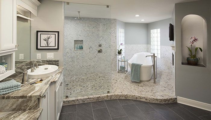 32 Best Master Bathroom Ideas And Designs For 2019: Design Ideas For A Master Bathroom
