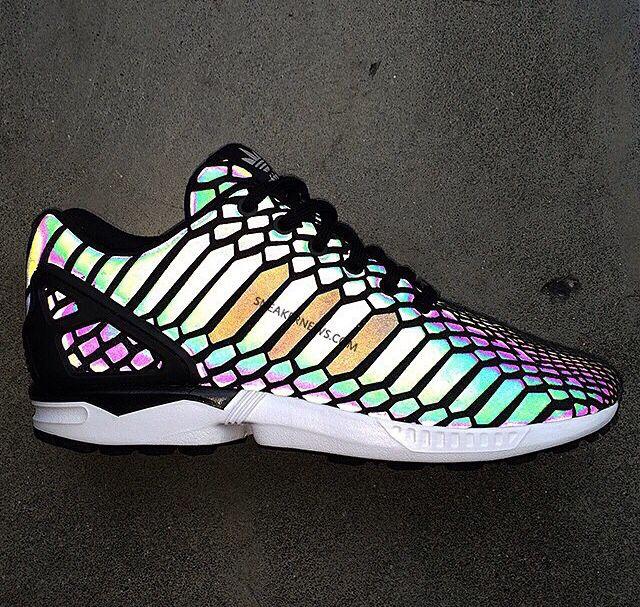 N-I-K-E shoes zx flux shoes esty