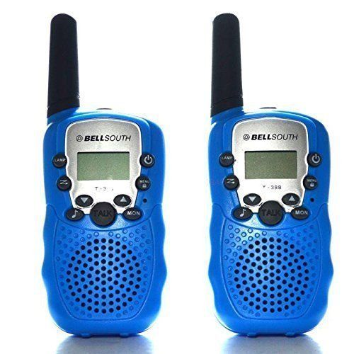 BELLSOUTH Walkie Talkie T388 Two Way Radio for Kids 2 Pack Blue ** Learn more by visiting the image link.