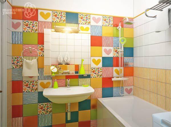 декорирование ванной комнаты пример фото