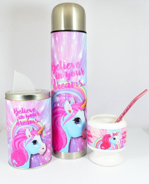 SET MATERO UNICORNIO SHINE
