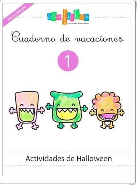 """Cuadernillo de Halloween 1 para Educación Infantil"" (Edufichas.com)"
