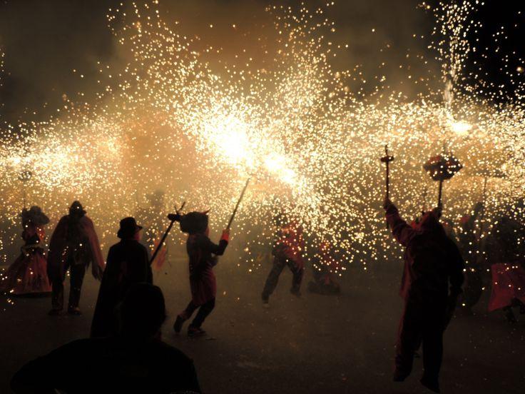 Correfoc de la #Merce14.  Festa Major de Barcelona. Mercè 2014.