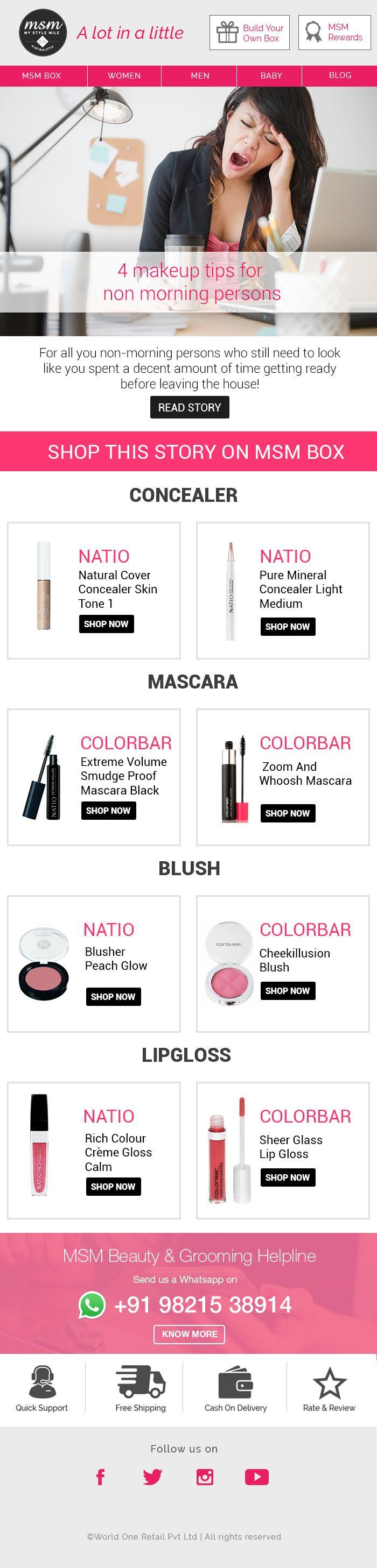 #makeup #lipgloss #beauty #mascara Shop: msmbox.com