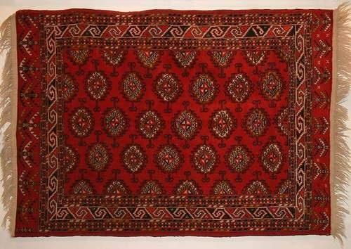Yomud rug, $550.00