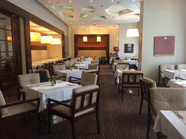 Restaurant in Hotel Aquamarine****, Moscow, Russia