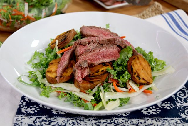 Kale Slaw and Flat Iron Steak: The Marilyn Denis Show | Understanding your Hunger Cues