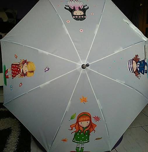 byLola / Maľovaný dáždnik 4ročné obdobia