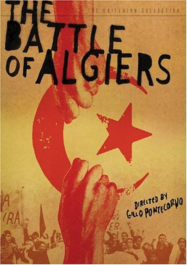 The Battle Of Algiers.  1966 I really  like this blogger critique 'The Battle of Algiers is a wonderful piece of film making. It's almost like a documentary, filmed in black and white, hand held, locations where it really happened and with amateur actors. It also even features the real resistance fighter Saadi Yacef playing basically himself. The only professional actor in this film is Jean Martin ..(1001moovees.blogspot.com.au)