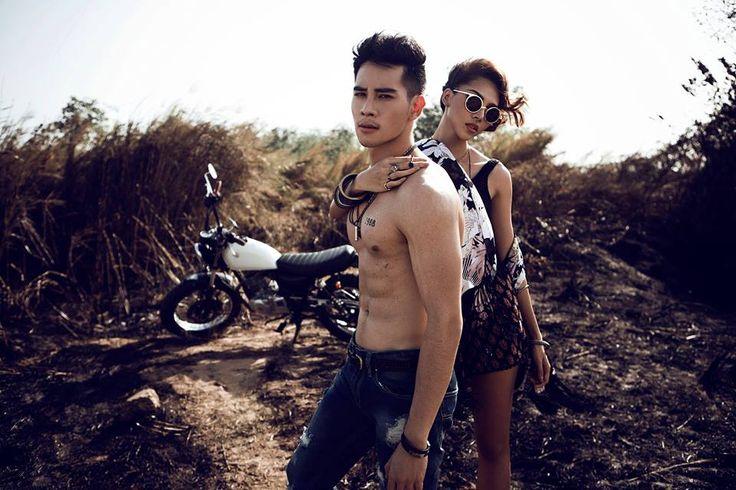 Ho Vinh Khoa sexy con moto http://viaggivietnam.asiatica.com/