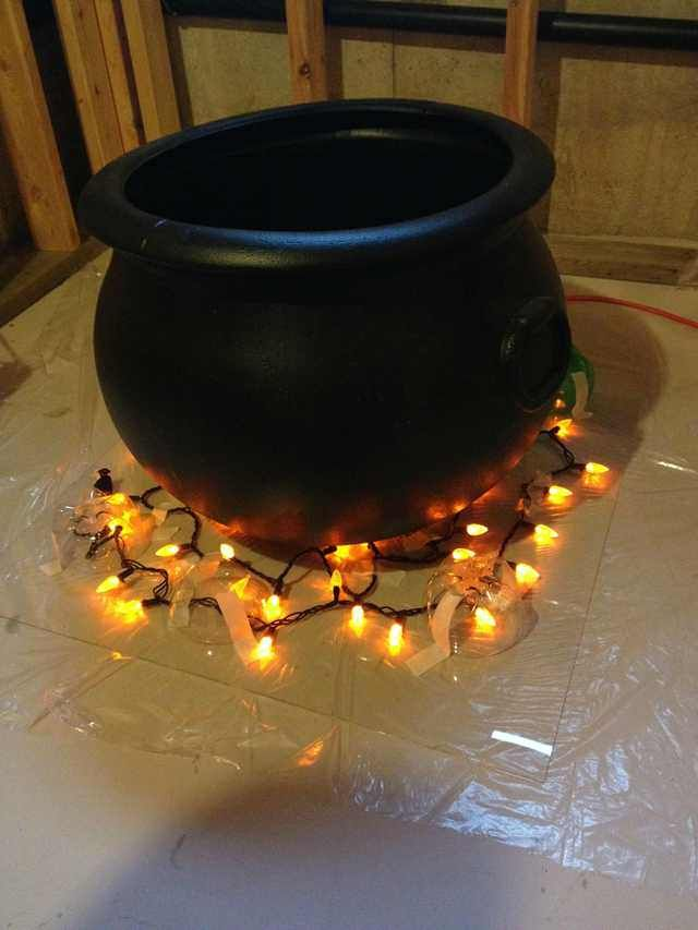 Diy Witch Cauldron Halloween Witch Decorations Witch Diy Fall