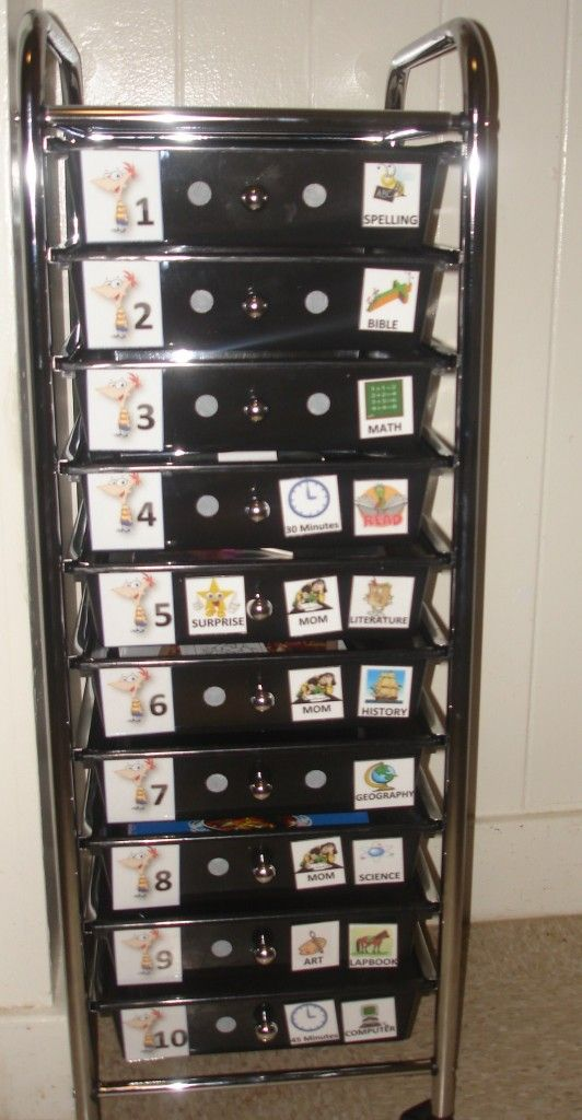workbox system with printable labels