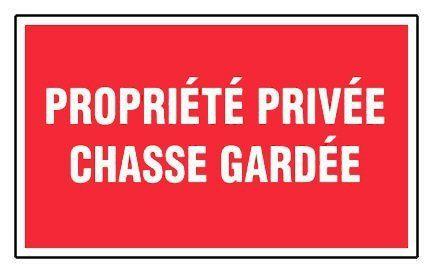 Novap – Panneau – Propriete privee chasse gardee – 330X200 Mm Rigide: PROPRIETE PRIVEE CHASSE INTERDITE Type de matériau : Polystyrène Cet…