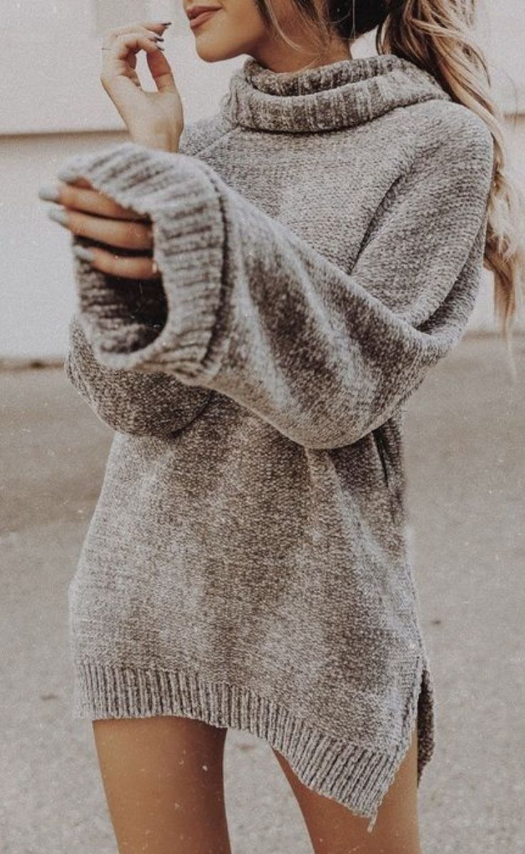 missguided oversized turtlenecks | best casual everyday fall and winter outfits ... 3