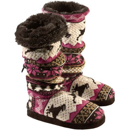 Women's Acrylic Knit Muk Luks  deergear.com #LegendaryWhitetails
