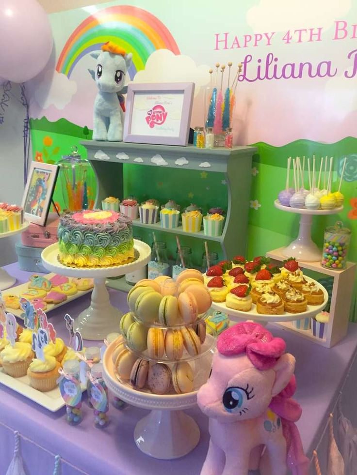 233 Best My Little Pony Party Ideas Images On Pinterest