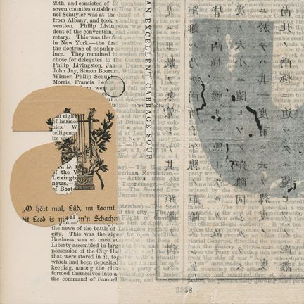 Janet Jones : 'Notations' Series(Collages)