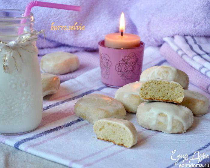 Творожно-ванильные пряники. Настоящие пряники из детства! Нежные, мягкие, вкусные, в сахарной глазури! #едимдома #пряники #выпечка #вкусно #сладости #кулинария #рецепты