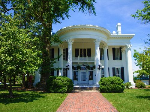 Paducah, Kentucky - Birthplace.  Picture is of White Haven, a restored plantation turned Welcome Center.