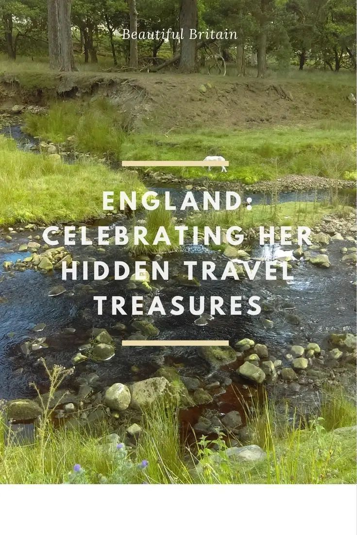 England – Celebrating Her Hidden Travel Treasures – Where to go when you've seen the places everyone recommends? How to find new destinations to explore in England: city, coast, countryside, history – We've got recommendations to help you discover England's hidden treasures.
