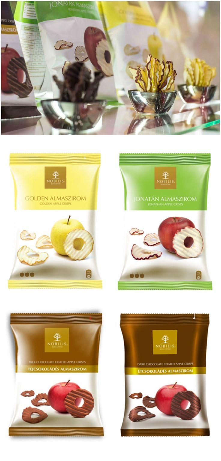 NOU pe http://realfoods.ro/, pentru un răsfăț dulce și sănătos: chipsuri de măr Nobilis, ușoare și crocante, din mere Jonathan sau Golden, bogate în fibre naturale, neprăjite și necoapte, fără adaos de zahăr, îndulcitori sau arome, și chipsuri învelite în ciocolată belgiană cu lapte ori amăruie.