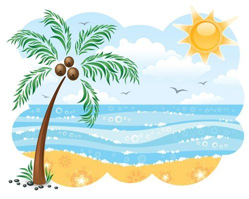 25 Best Beach Clipart Ideas On Pinterest