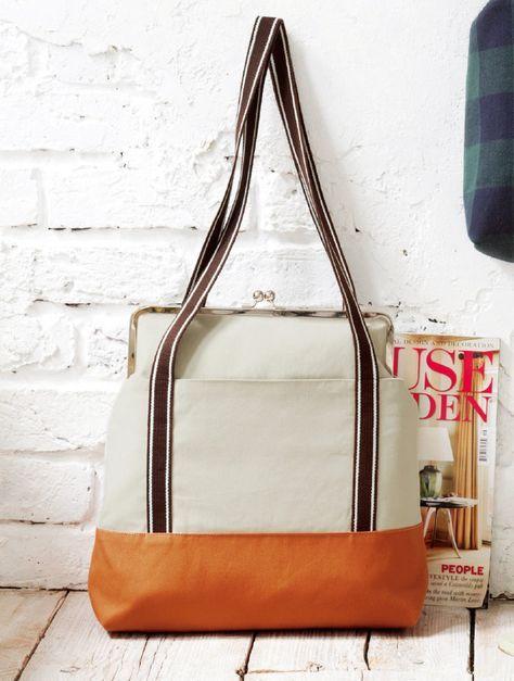 手作りする 縦長が便利なカジュアルなトートバッグの作り方(バッグ) | ぬくもり