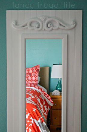 DIY Upgraded Full Length Mirror (Master Bedroom Project) |