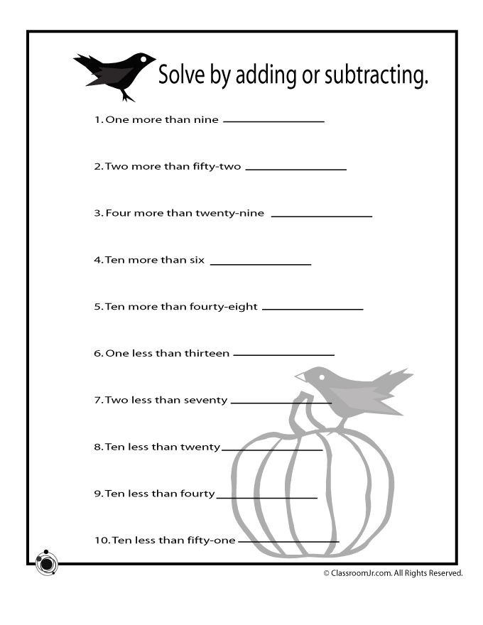 Printables Cool Math Worksheets 1000 ideas about halloween math worksheets on pinterest written number addition classroom jr