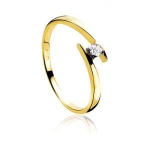 Zinzi gouden ring ZGR 91