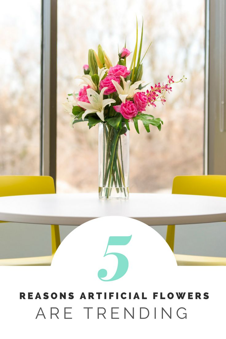 Top 5 Reasons Artificial Flowers Are Trending Right Now