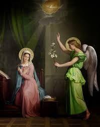 Image result for Anunciación a la Virgen María