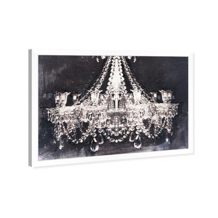 Les Lustres De Style Glam Et D Entrée Spectaculaire Impression Canvas Wall Art Wall Canvas Graphic Art Print