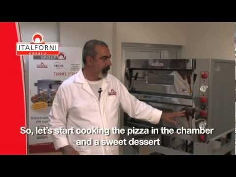 Elektrická pizza pec TK D-2I - komplet nerez | alvex.sk