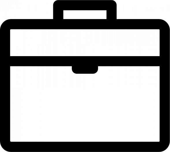 10 Briefcase White Png Icon Png Icons Free Icons Png Icon