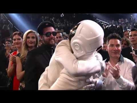 Daft Punk wins Album of the Year #daftpunk #AOTY #Grammys