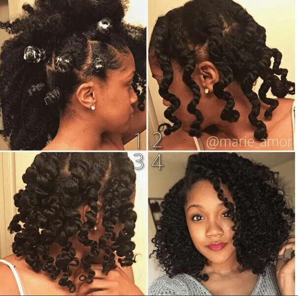 Fab Bantu knot out!!