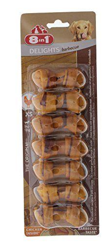 Aus der Kategorie Kausnacks  gibt es, zum Preis von EUR 5,37  Kauknochen mit eingewickeltem Hähnchenfleisch, Kleine Knochen für gesunde Zähne und viel Spaß, Ohne Zusätze von Getreide oder Getreideprodukten, Für kleine Hunde zwischen 2 und 12 Kg