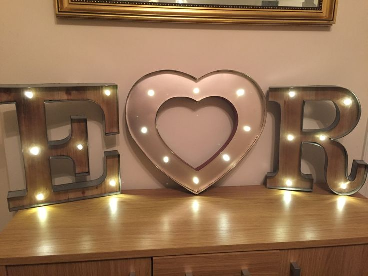 Wall Letters Light Up : Best 25+ Light up letters ideas on Pinterest