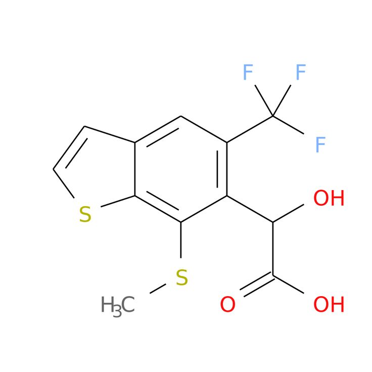 2-HYDROXY-2-(7-(METHYLTHIO)-5-(TRIFLUOROMETHYL)BENZOTHIOPHENE-6-YL)ACETIC ACID is now  available at ACC Corporation